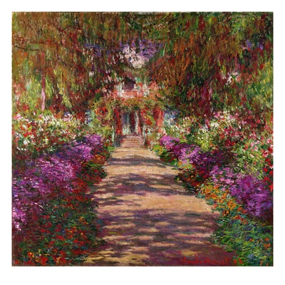Monet's garden at Giverny is a revelation. It was a master's use of  plantings that gave him inspiration for many of his most famous works. If you need color inspiration ideas, take a tour of his paintings.