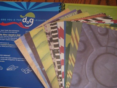 In the back of the book are 40 pages of various colors and patterns, which will make creating cool paper airplanes even more fun for your kids.