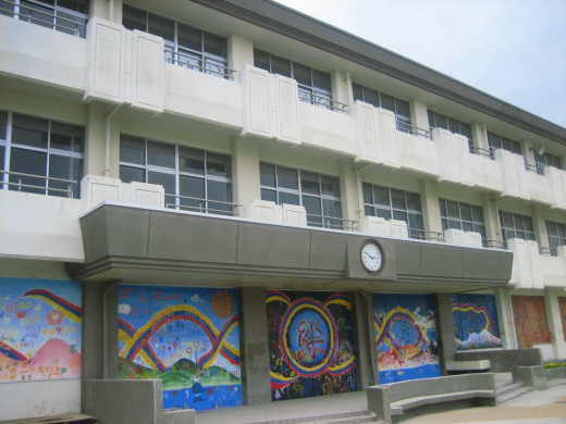 A school in Ishinomaki.