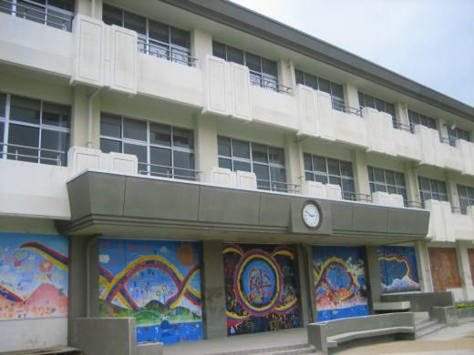 A school in Ishinomaki.