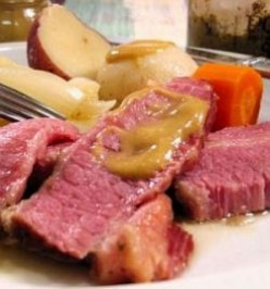 Old Fashioned Corned Beef for St Patrick's Day