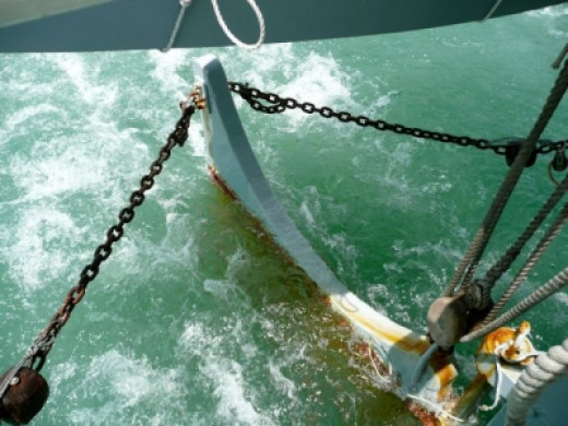 Check out the chain directed rudder