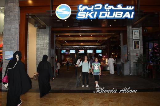 Ski Dubai - worlds largest indoor ski resort