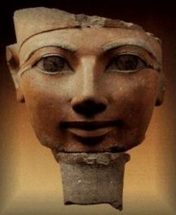 Hatshepsut with her Beard