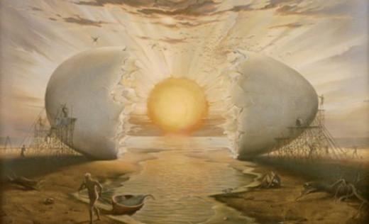 The Cosmic Egg in Hindu mythology