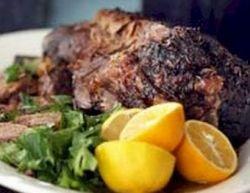 Greek style Leg of Lamb