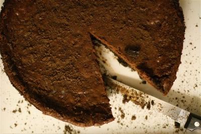 Yummy Double Chocolate Cheesecake