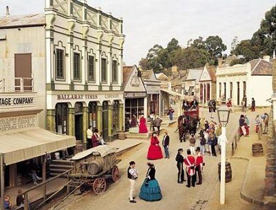 Sovereign Hill Scene