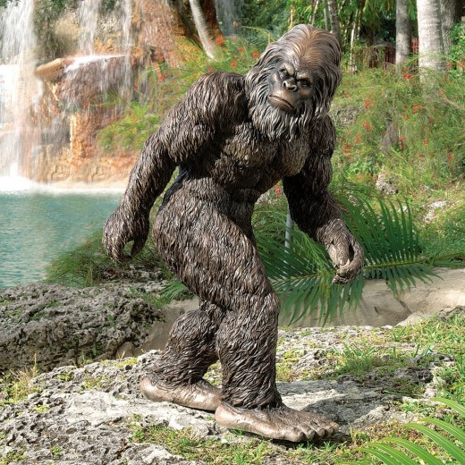 Decorate your Garden with a Yowie or a Yeti