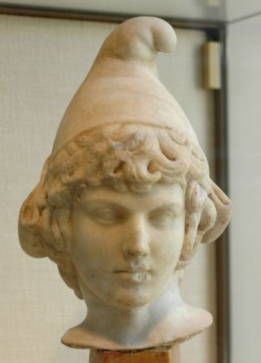 Classical Bust in Phrygian Cap