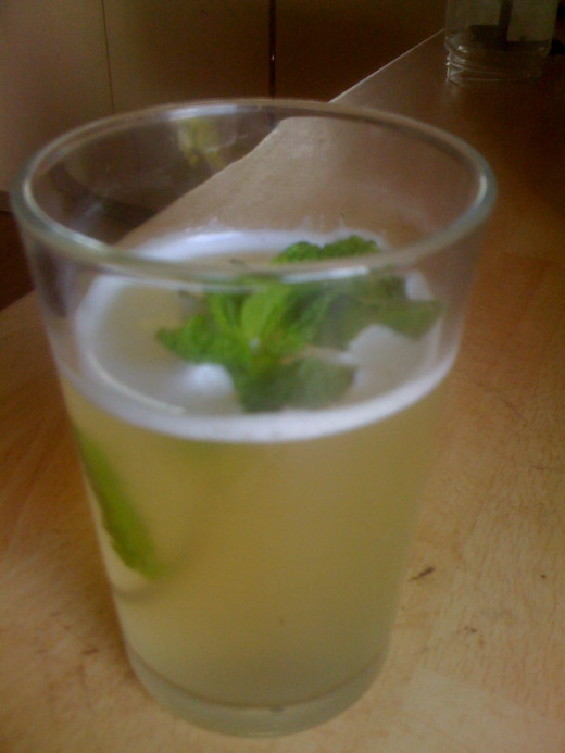 Make sure the tepache is very cold before drinking. It's great with mint leaves.