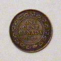 The Canadian One Cent Coin:  The Canadian Penny