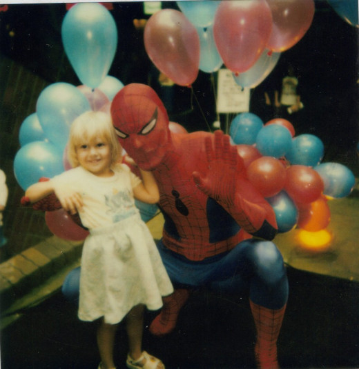 I was pretty young but meeting Spiderman was one of my greatest thrills.