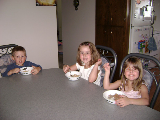 Cereal is quick, easy, and kids generally love it but stick to the non-sweetened varieties.