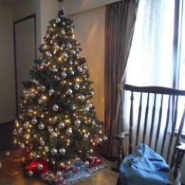 Putting up a tree and playing holiday music can make the house more feel cheerful.