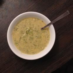 Cream of Cheddar Broccoli Soup Recipe