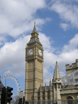 Big Ben, London Eye