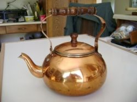 One of my copper kettles.