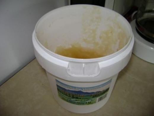 Drink hot honey water: Honey is soothing and has antibacterial properties.
