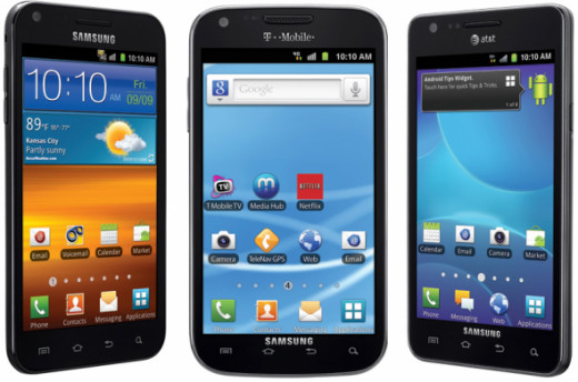 Samsung Galaxy SII Android Smartphone