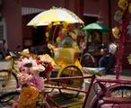 Trishaw ride , Melaka