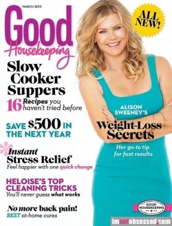 Good Housekeeping 2013 Alison Sweeney hair by Matthew Holman