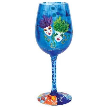 Lolita New Orleans Wine Glass