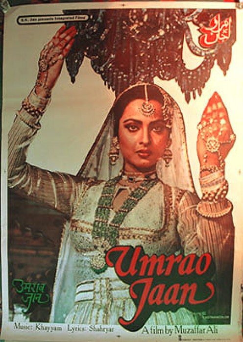 """""""Umrao Jaan"""", based on the Urdu novel Umrao Jaan Ada (1905), written by Mirza Hadi Ruswa based on the famous Lucknow courtesan by the same name."""