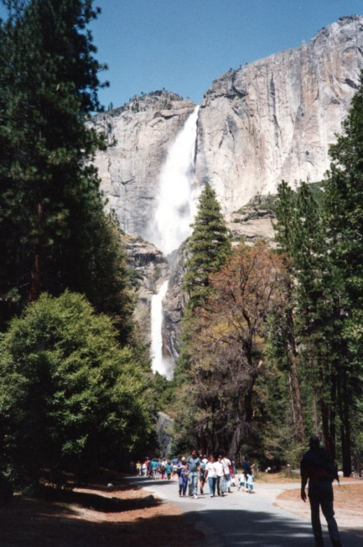 Yosemite Falls is probably at it's best during the Spring when the snow has begun to melt.