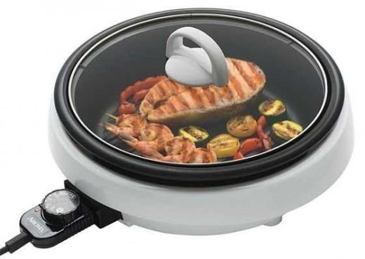 Aroma skillet roast pot