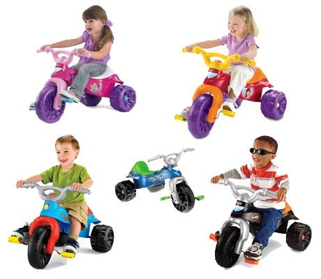 The 5 fisher price tough trikes