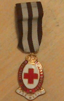 British Red Cross Merit Medal