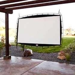 92 inch hanging projection screen