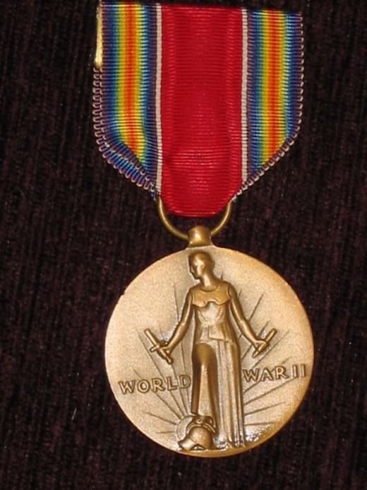 US 1939-45 Victory Medal - obverse
