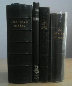 Some Anglican Missals and Altar Books