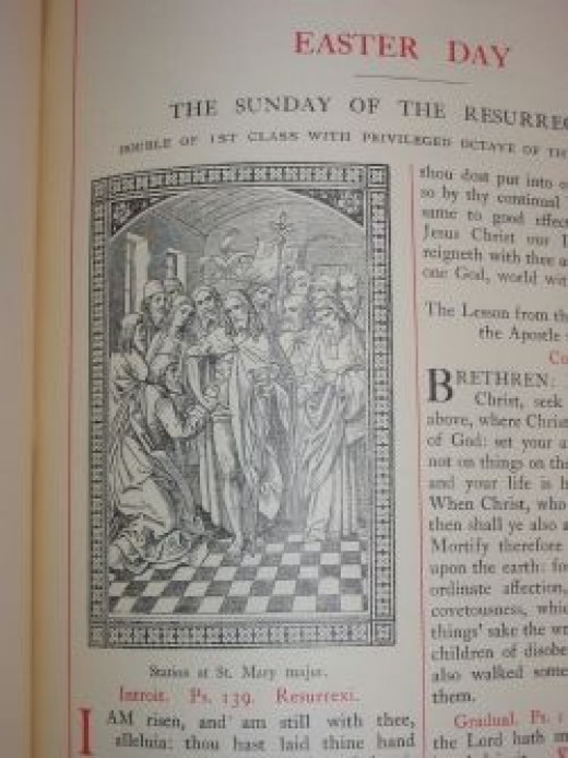 Proper for Easter Day from the English Missal