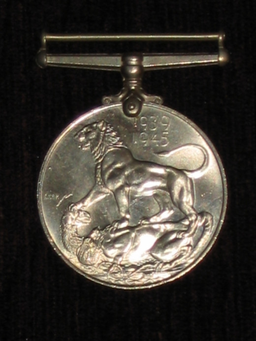 British 1939-45 War Medal - reverse