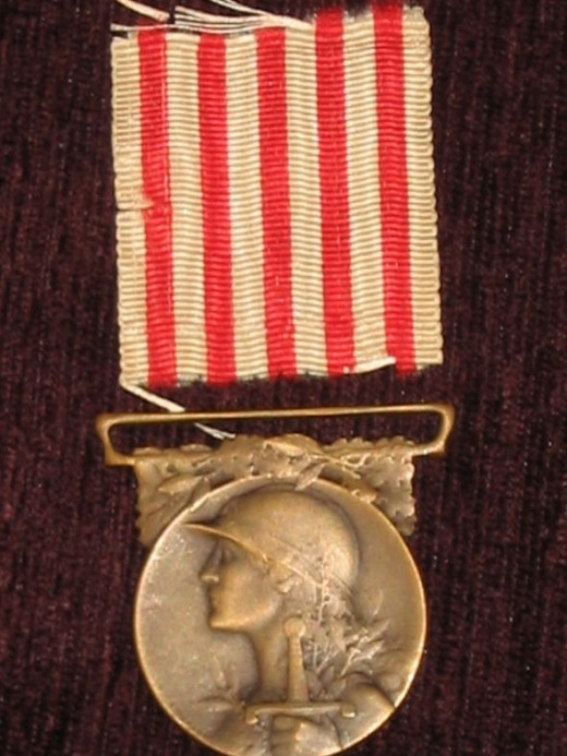 French 1914-18 Commemorative Medal - obverse