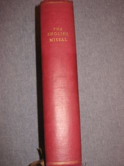 The English Missal - Spine