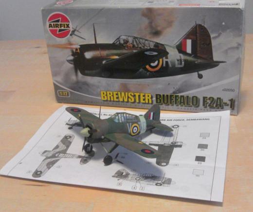 Airfix RAAF Brewster Buffalo