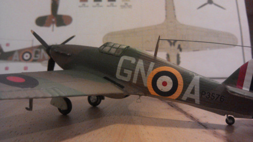 Hawker Hurricane Mk.1G-NA