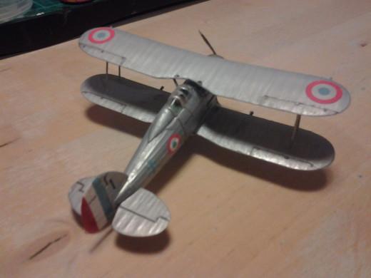 /72 Revell GLOSTER GLADIATOR Mk1 3 Sqn RAF Kenley