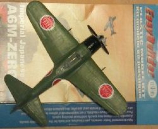 Testors Imperial Japanese A6M Zero