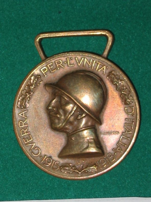 WWI War Medal 1915-18 - Italy