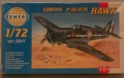 SMER Curtiss P36 Hawk 75