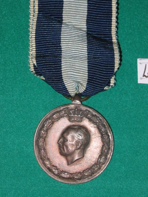 1940-41 Land Operations Medal - Greece