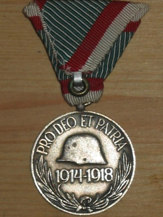 1914-18 War Commemorative Medal - Austria-Hungary