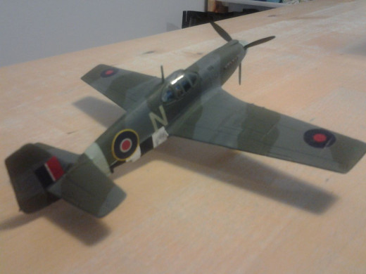 Novo RAF 2 Sqn Mustang Mk II