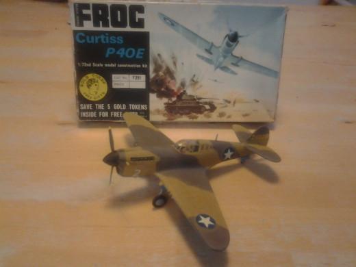 Frog Curtiss P-40E USAAF
