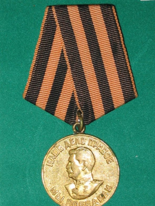 Victory Over Germany Medal - USSR